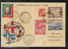 Airmail Espresso, for Aereo international tour of Sicily 1961