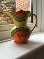 Art Deco Colourful Burslem Jug - Clarice Cliff Style