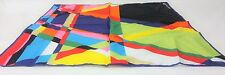 M&S Marcel Wanders Scarf Multi Colour Pink Mix 58x58cm 100% COTTON