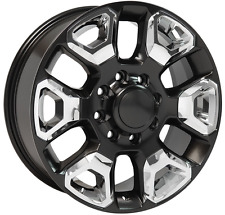 "20"" Wheels Fits Dodge Ram 1500 2500 3500 Mega Cab 8 lug Rims 20x8 (Rims Set 4)"