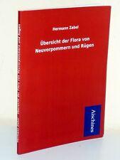 Hermann Zabel: Übersicht der Flora von Neuvorpommern und Rügen