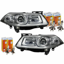 SET FANALI RENAULT MEGANE II 2 ANNO fab. 06-08 RESTYLING incl. PHILIPS 30% H7+