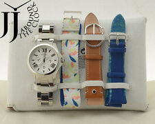 New Fossil Women's Limited Edition Cecile Multifunction Watch Set LE1036 4Straps