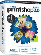 Encore The Print Shop 2.0 Deluxe *New*