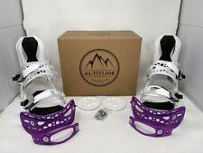 "Wh Black Friday ALTITUDE /""Rider/"" 4X4 Burton Snowboard BINDINGS L//XL Women 10+"