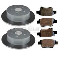 For TOYOTA ESTIMA / HYBRID ACR50 ACR55 AHR20 2006> REAR BRAKE DISC & PAD SET