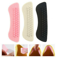 Pair Gel Silicone Heel Grip Back Liner Shoe Insole Pad Foot Care Protector Tool
