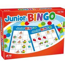 Tactic Junior Bingo Colourful Pictures Childrens Classic Board Game