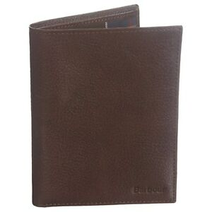 BARBOUR Leather Passport & Document Wallet