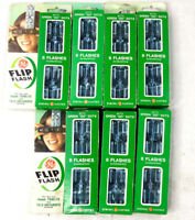 QTY 7 GE Flip Flash LOT NOS New Old Stock
