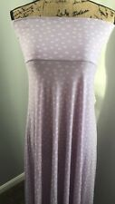 NWT LulaRoe Maxi Skirt Dress XS PURPLE LAVENDER & LILAC POLKA DOT Springtime