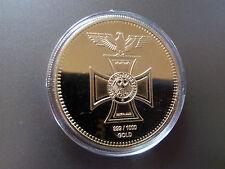 Deutsche Reichsbank EK Brandenburger Tor Goldene Medaille Gold Barren  1OZ verg.