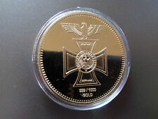 Tedesco Banca empire EK Porta Di Brandeburgo Goldene Medaglia Oro Bar 1 OZ verg
