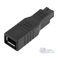 400/800 FireWire Female to 9-Pin Male IEEE1394 For MacBook Adapter Converter