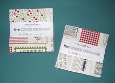 """THE COOKIE EXCHANGE"" by Moda,2 Charm Packs  42 ~ 5"" x 5"" each 100% Cotton Quilt"