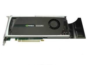 Ibm 89Y8627 Nvidia Quadro 4000 2GB PCI-E GDDR5 1x DVI-D 2x Display