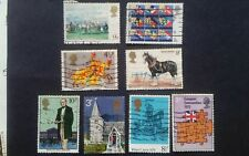 Old British stamps 1970's