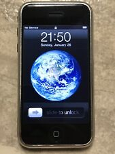 Apple iPhone 1st Generation 2G A1203 8GB Black - AT&T GSM Works Collectors Item
