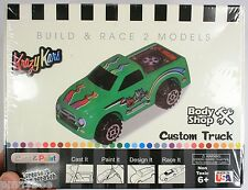 Cast & Paint Kit from Krazy Kars - Custom Truck - Build and Race 2 Models *NEW