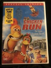 Chicken Run,Mint Condition Never Opened Factory Sealed ( Special Edition)
