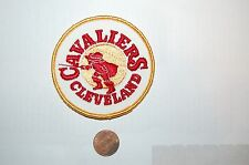 """Cleveland Cavaliers 3"""" Vintage Retro 1970-1983 Primary Logo Patch Basketball"""