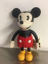 Vintage Disney Retro Collection Mickey Mouse Posable Vinyl Doll