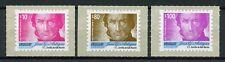 Uruguay 2018 MNH Jose Artigas Definitives Pt II 3v S/A Set Famous People Stamps