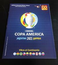Panini Copa America 2021, empty Album Brasil Ed., Panini Barueri Brasil Maradona