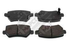 Bremsbelagsatz, Scheibenbremse MAPCO 6605 hinten für KIA OPEL