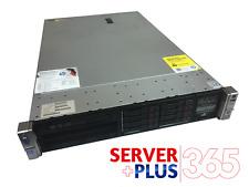 HP ProLiant DL380p G8 server, 2x 2.9GHz 8-Core, 128GB RAM, 8x 600GB 10K SAS
