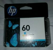 Genuine HP 60 Tri-Color Ink Cartridge (Expiration 2012) NEW