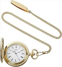 SEIKO WATCH 2019 Pocket watch with gold case lid with chain dia 45 mm SAPQ008