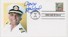 Signed Gavin MacLeod Fdc Autographed First Day Cover The Love Boat