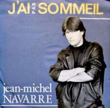 ++JEAN-MICHEL NAVARRE j'ai pas sommeil/secret services SP 1986 ARIOLA EX++