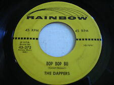 The Dappers Bop Bop Bu / How I Need You Baby 1956 45rpm VG+