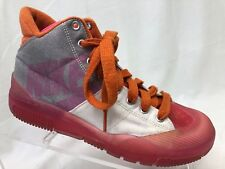 Nike 8 high top canvas and plastic women's athletic shoes multi color.       SR3