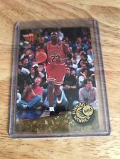 92-93 FLEER ULTRA AWARD WINNER NBA MICHAEL JORDAN INSERT #1 Of 5 1992 NBA MVP