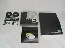 ABLETON LIVE SUITE 8 MUSIC CREATION 6 DISCS (PC AND MAC COMPATIBLE) BONUS DISCS