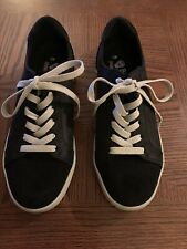 Bobs By Skechers Lace Up Black Memory Foam Sneakers, Size 7