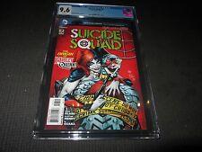Suicide Squad 7 CGC 9.6 NM+, 1st Print - Origin of Harley Quinn (DC 2012)