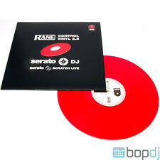 Rane Serato Scratch Replacement Control Vinyl Record - Red - *NEW VERS 2.5*