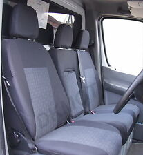 Sur Mesure Van Housses De Siège Pour Mercedes Sprinter Van 2008 W906 (P1)