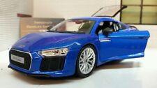 Camión de automodelismo y aeromodelismo Maisto color principal azul