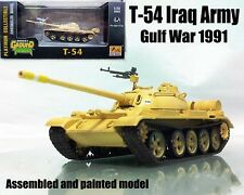 Iraq army T-54 Russian tank gulf war 1991 desert 1/72 no diecast Easy Model