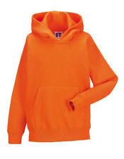 Vêtements oranges sans motif pour fille de 2 à 16 ans