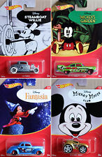 Walt Disney 90. Anniversary Set 4 Modellautos Mickey Mouse 1:64 Hot Wheels FKD66