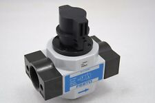 Festo HE-D-MAXI On/Off Valve With Lock-out, 162813, G1 In & Out, G3/8 Muffler