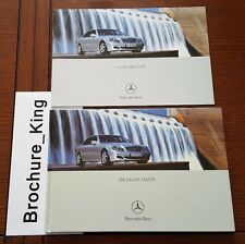 Mercedes-Benz The S-Class Brochure and Price List Set S55 AMG NEW