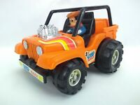 Illco Disney Mickey Mouse Gyro Powered Buggy - Orange - Working