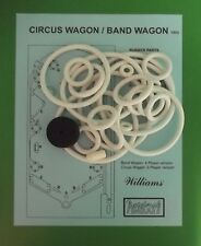 1955 Williams Circus wagon, Band Wagon pinball rubber ring kit
